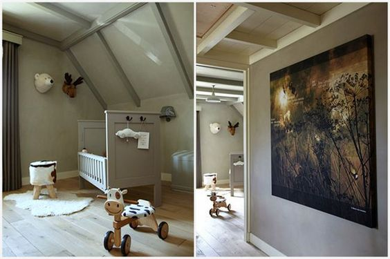 10 Children`s interiors painted with Pure & Original