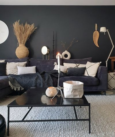 The perfect grey wall in your livingroom