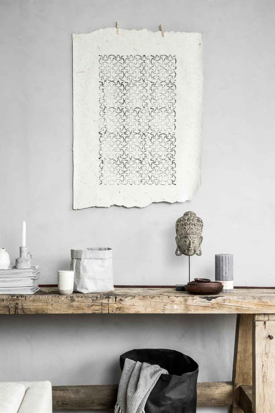 Concrete look with colournuance in Marrakech Walls