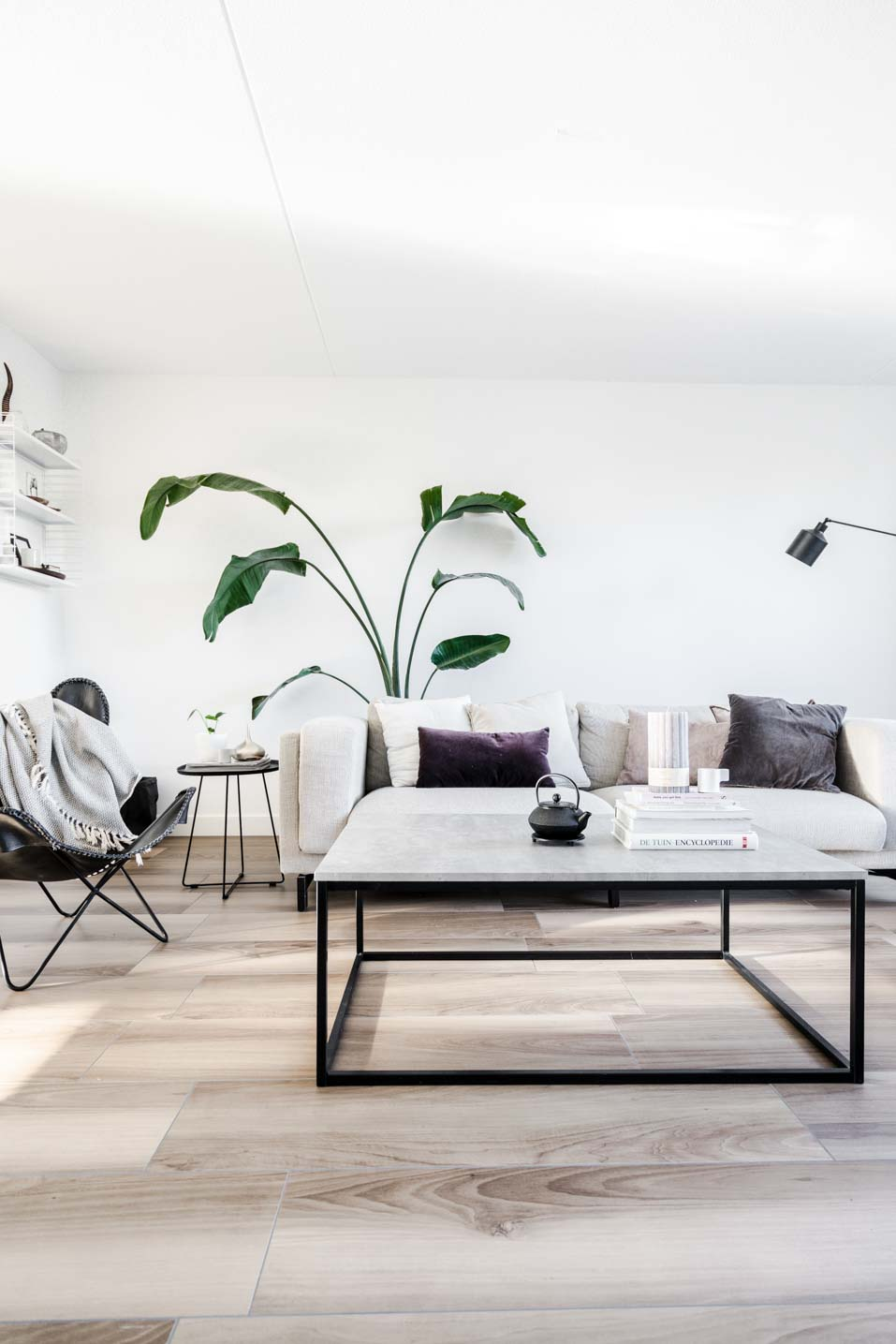 Living room make-over with Marrakech Walls