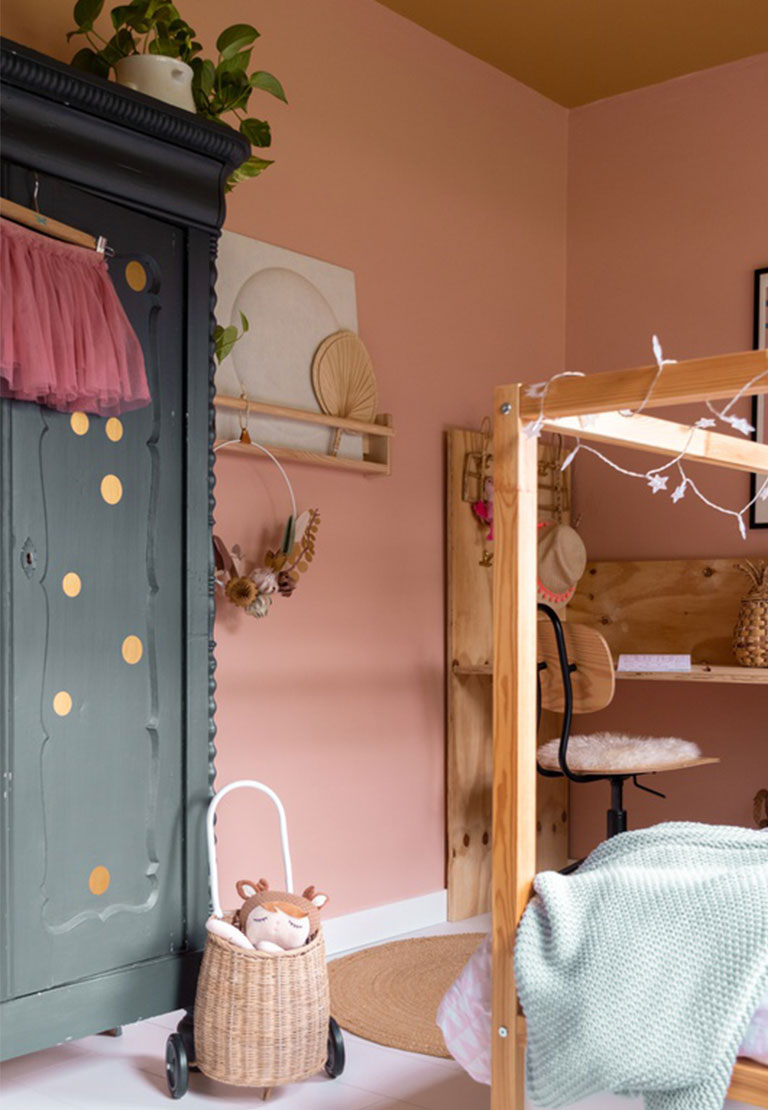 The perfect colour pink for your interior