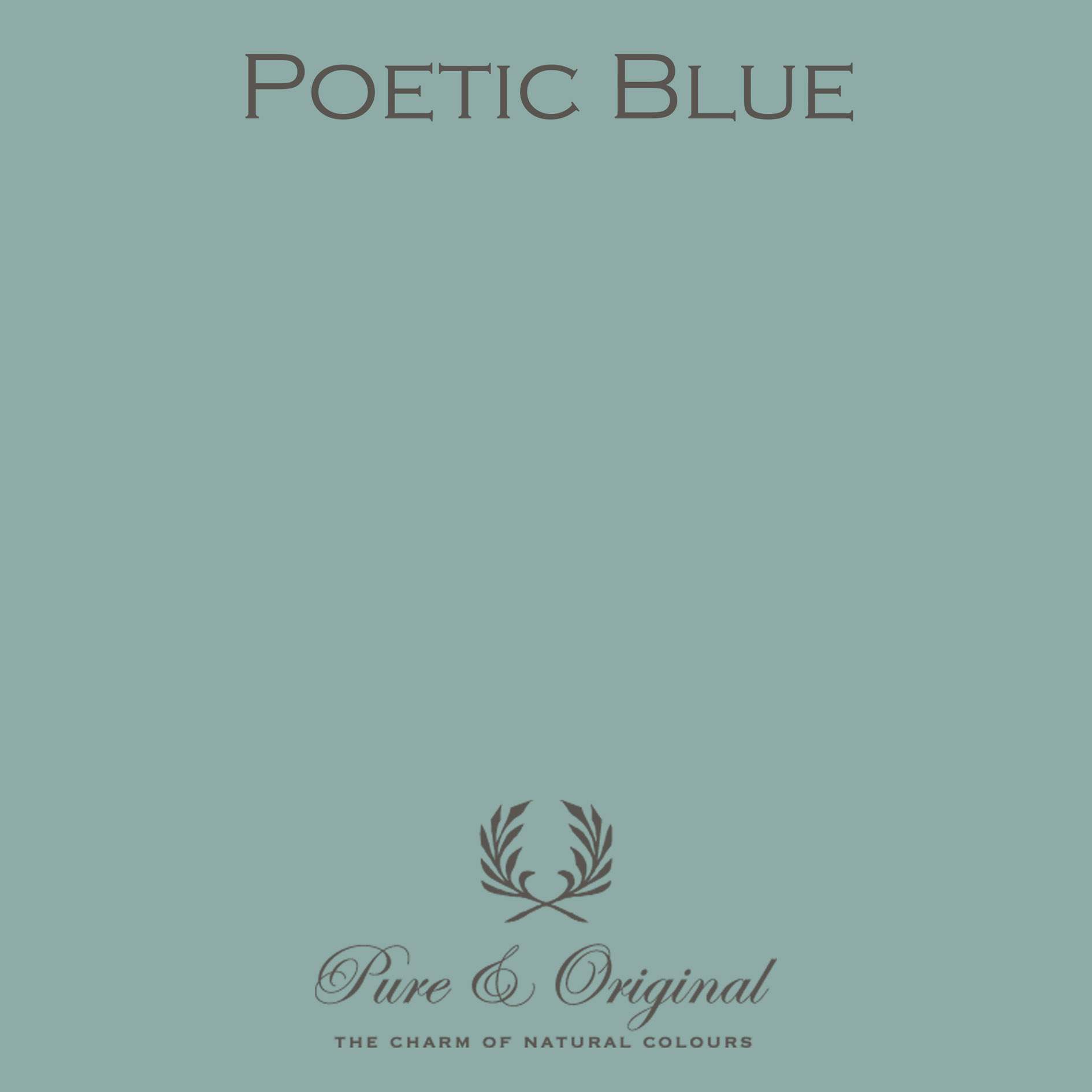 Pure & Original Poetic Blue