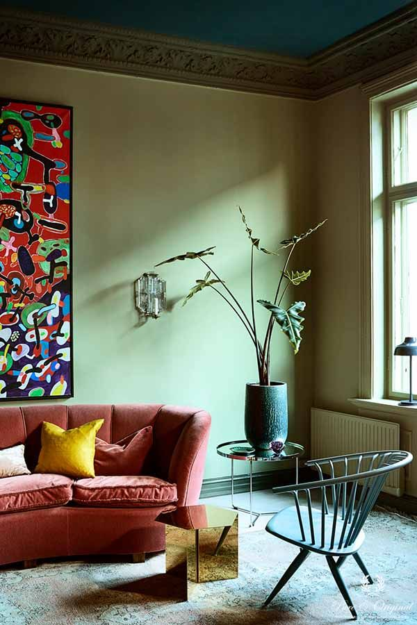 Colour Collection Livingroom Landscape Belgian Wilderness