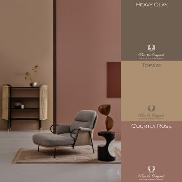 Courtly Rose Classico chalk-based paint Beth Evans