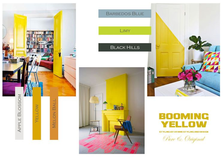 Booming Yellow by Ayame styling & design