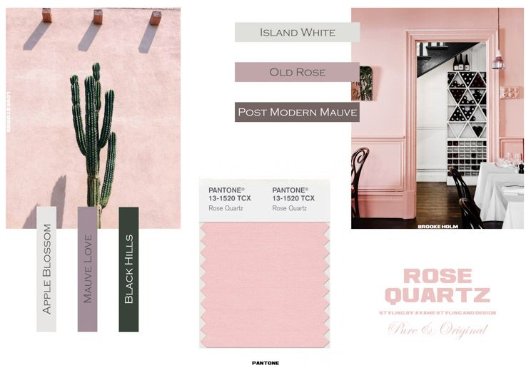 Rose Quartz by Ayame styling & design