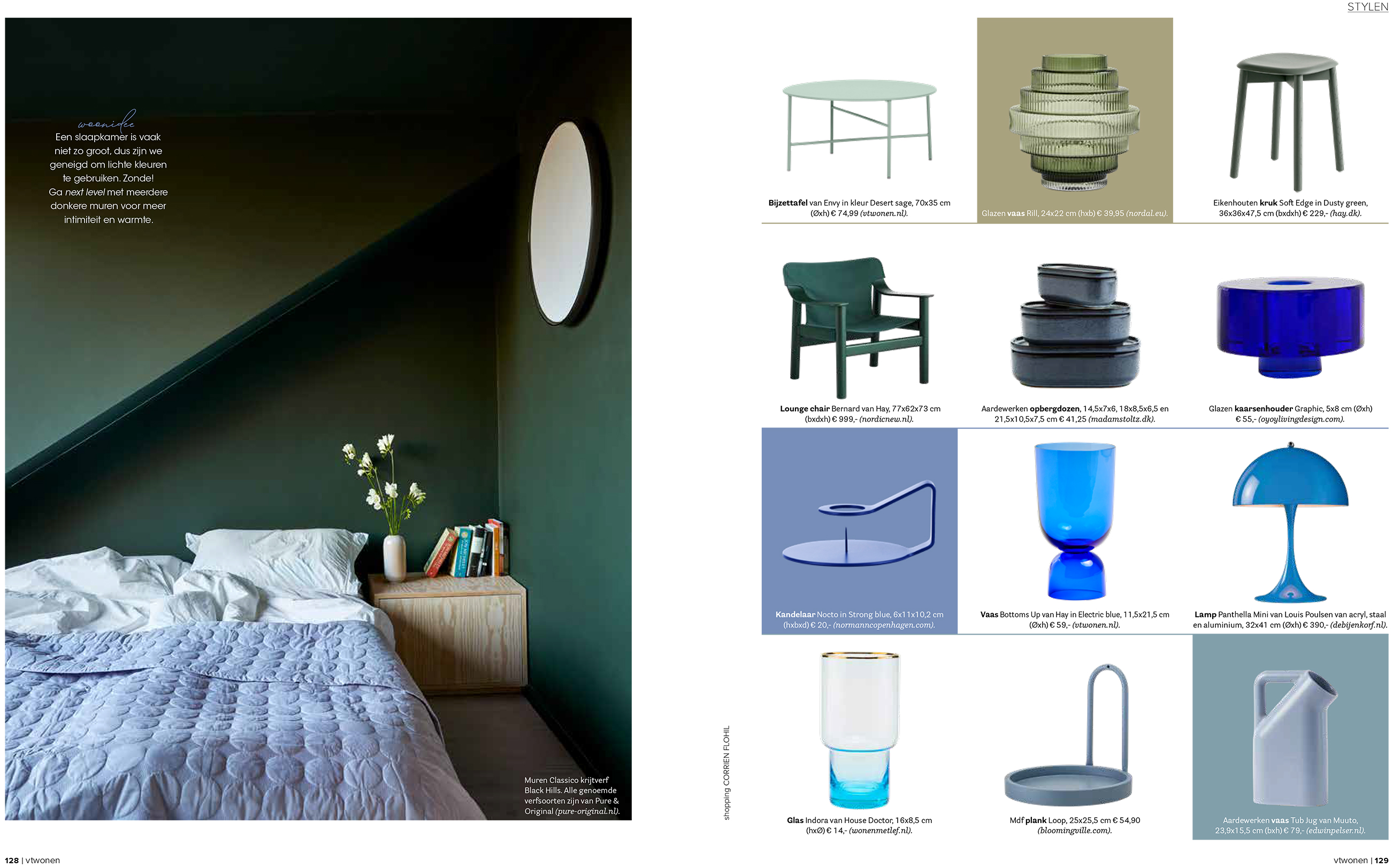 Pure & Original in vtwonen ed5 2020 met colour collection upside down