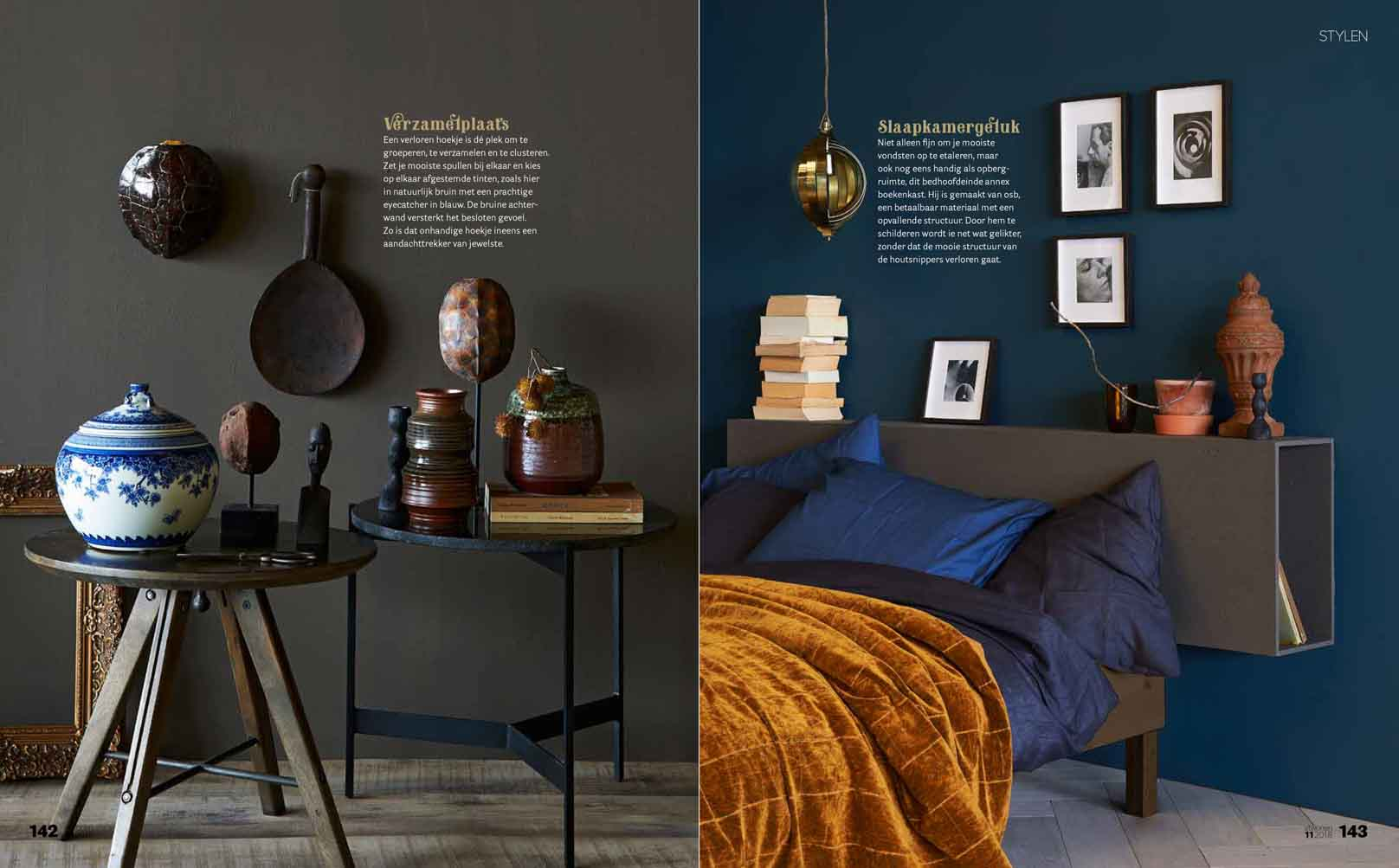 Earth tints for a cosy interior