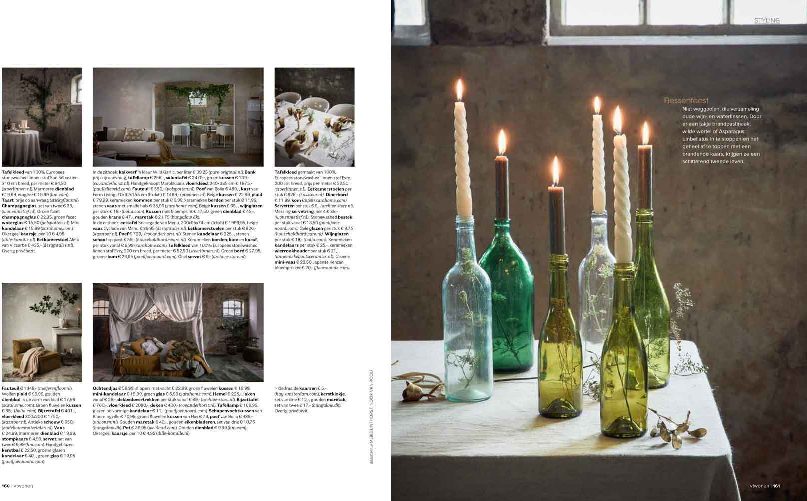 Publication Pure & Original in vtwonen magazine 12 2020