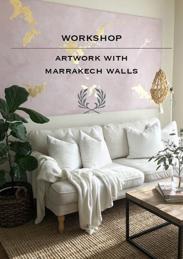 Artwork with Marrakech Walls