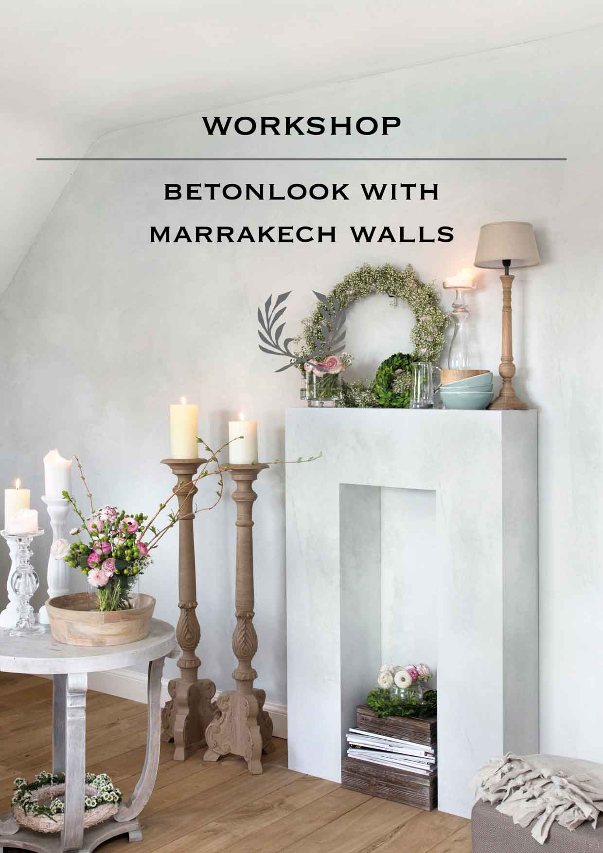 Concrete look with Marrakech Walls