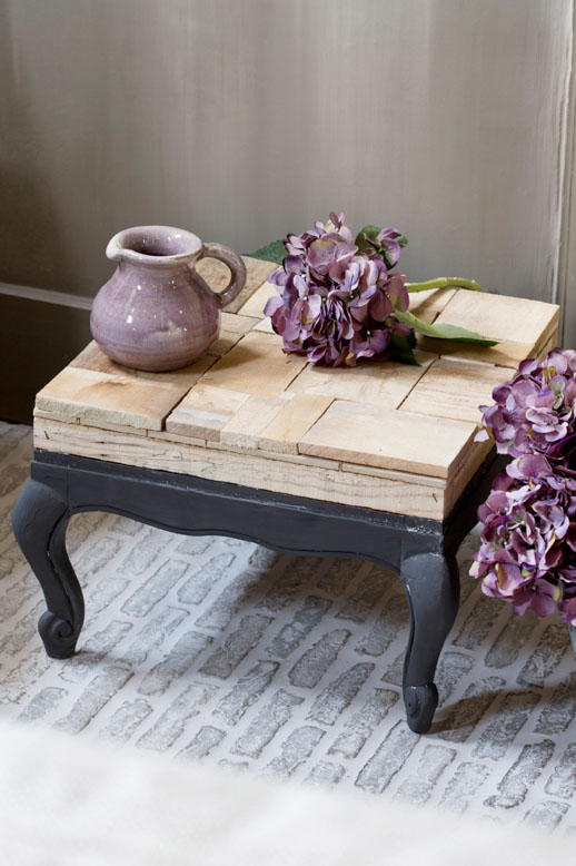 Furniture make-over with chalk-based paint