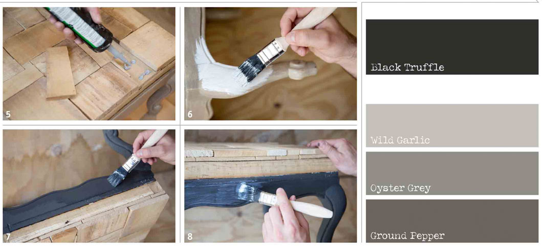 How to apply chalk paint